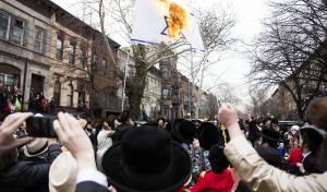 פורים בויליאמסבורג: שריפת דגל ישראל