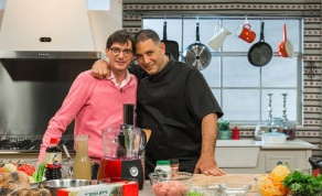 צפו: אבי לוי ואיציק סודרי במטבח כיכר השבת