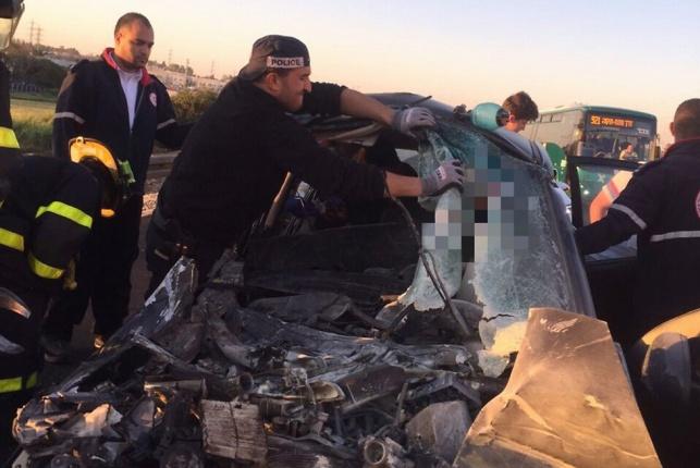 שני הרוגים בתאונת דרכים קטלנית בפרדסיה