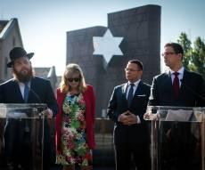 מסיבת העיתונאים המשותפת של מנכ״ל משרד רה״מ ההונגרי והרב כובש