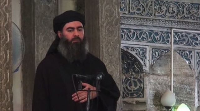 """הקלטה חדשה של אל-בגדדי: """"הארגון חזק"""""""