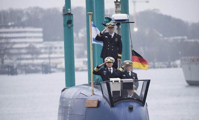 """צפו בטקס השקת הצוללת החמישית של צה""""ל"""