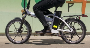 אופניים חשמליים. אילוסטרציה