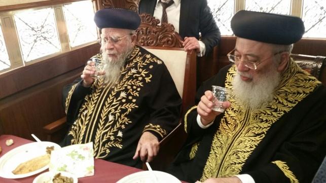 """הראשלצי""""ם  ציינו את הילולת רבי יעקב אבוחצירא"""