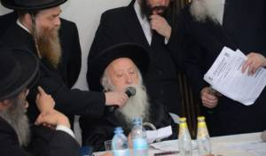"""ראש הישיבה הגאון רבי אליהו שמרלר זצ""""ל"""