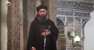 """אבו בכר אל-בגדדי - מנהיג דאע""""ש: """"תתקפו, הציתו להבה נגד אומות הכופרים"""""""