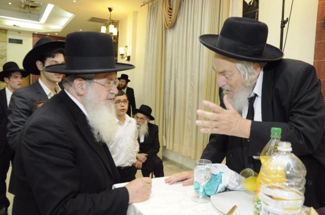 עם ראש הישיבה הגאון רבי ברוך ויסבקר