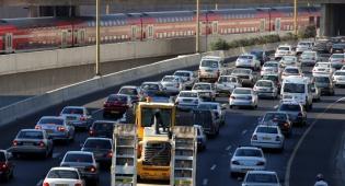 הצפיפות גדלה: 3.24 מיליון רכבים בישראל