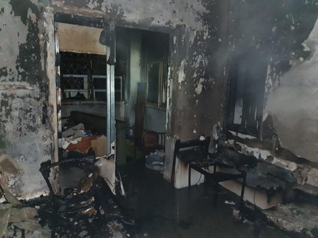 הלילה: דירה עלתה באש ונשרפה כליל