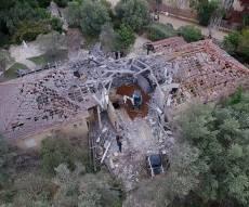 הבית שנהרס מפגיעת הטיל