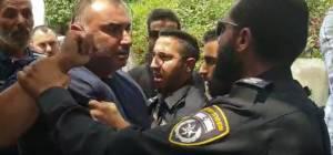 """צפו: ח""""כים הותקפו בשייח ג'ראח בידי ערבים"""