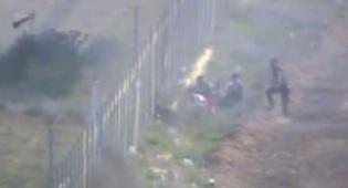 וידאו: כך ניסו מחבלי חמאס לפגוע בגבול