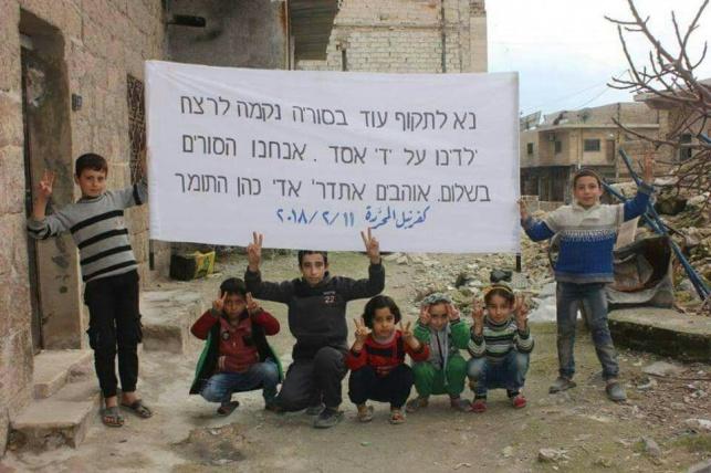 """תמיכה מפתיעה: """"נא לתקוף עוד בסוריה"""""""