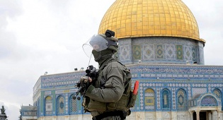 שוטר בהר הבית בירושלים