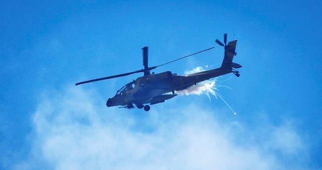 דיווח: ישראל העבירה מסוקי קרב לירדן