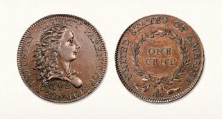 """פני ארה""""ב ראשון 1792 מכירה פומבית"""