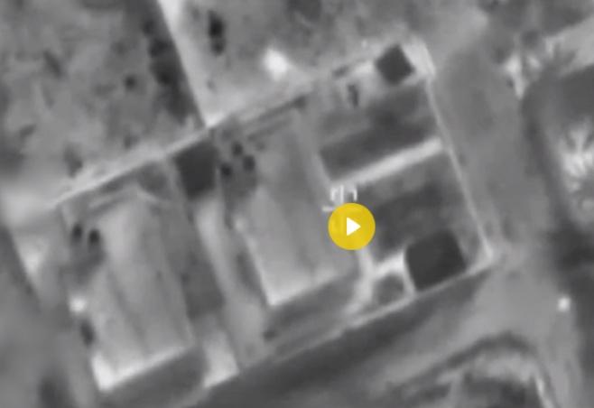 """כך תקף צה""""ל את בית ראש אגף המבצעים של חמאס"""