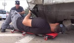 המבצע המשטרתי באלעד - האוטובוסים של 'קווים': 'ליקויים מסכני חיים'