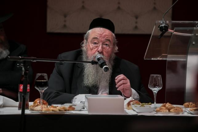 ראש הישיבה מצרפת מבקר בישראל