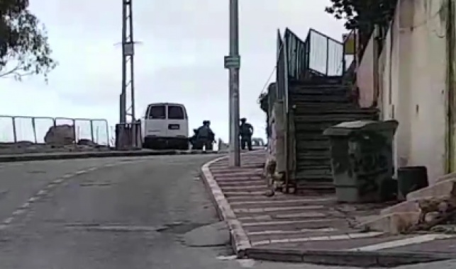 חיילים בשכונת חליסה