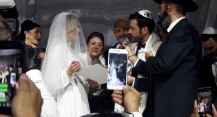 הרב נתנאל בן מעש חיתן את זוג הידוענים