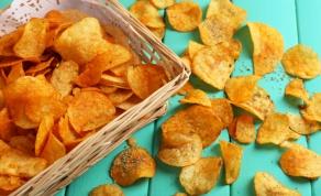 בריא וטעים יותר: חטיף צ'יפס מתפוחי אדמה