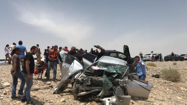 תאונה קטלנית בכביש 90: 2 ילדות - נהרגו