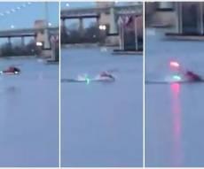 מסוק התרסק לנהר בניו יורק, 5 נהרגו • צפו