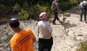 מורה התייבשה בנחל בהרי ירושלים - וחולצה