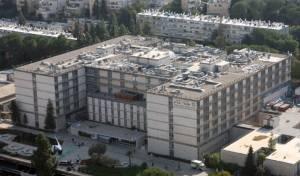 רשם שיא בצפיפות: בית החולים שערי צדק