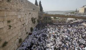 ברכת כהנים - באים לחגוג בירושלים? אלו הסדרי התנועה