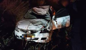 נהג מכונית ורוכב סוס נהרגו בתאונה קשה