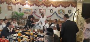 מסיבת יום הולדת 41 בהפתעה לראש העיר