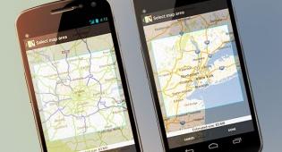 גוגל מפות לאנדרואיד