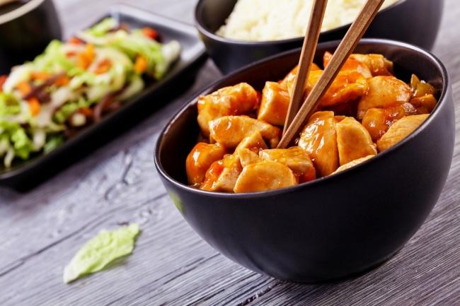 להרגיש סין, בבית: עוף חמוץ מתוק עם אננס