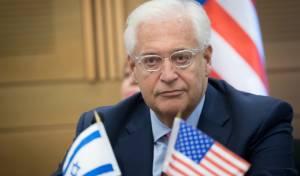 דייויד פרידמן - השגריר: פינוי מתנחלים יביא למלחמת אחים