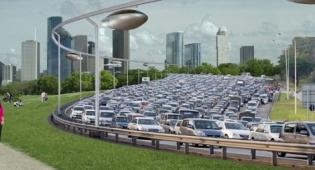 """הדמיית הפרויקט - נאס""""א פיתחה, הרצליה תממש: רכבל מגנטי"""