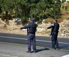 סמוך לחברון: פלסטיני נתפס נוהג ללא רישיון