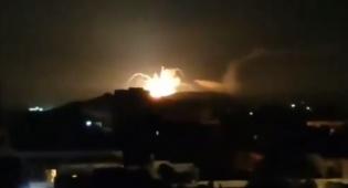 תיעוד: כך ישראל תקפה את איראן בסוריה