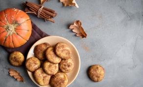 עוגיות דלעת עם אגוזי מלך - ללא גלוטן