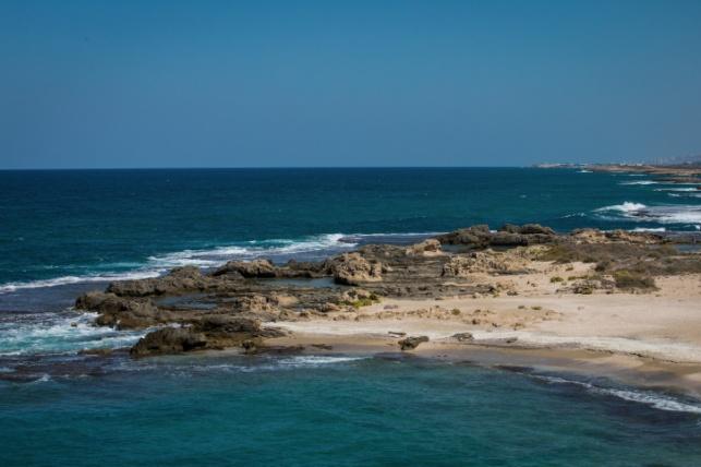 חוף דור ליד חיפה