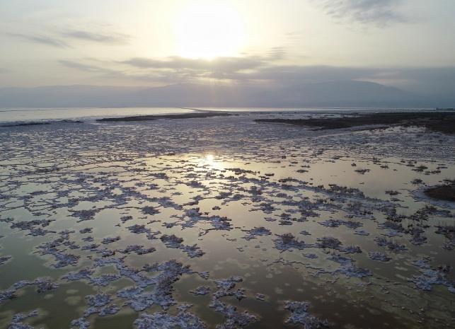 תיעוד מרהיב: ים המלח ומדבר יהודה מהרחפן