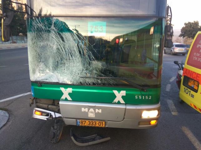 האוטובוס הפוגע