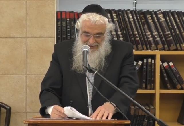 הגאון רבי משה מרדכי פרבשטין  ב'מרכז הרב'