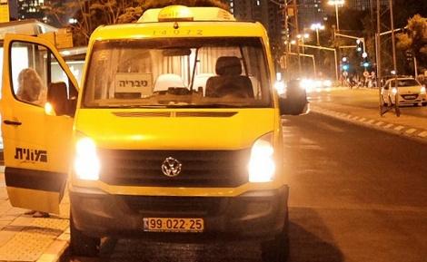 מונית שירות, ארכיון - מהדלת האחורית - תחבורה ציבורית בשבת