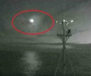 תיעוד נדיר: מטאור נכנס אל האטמוספירה