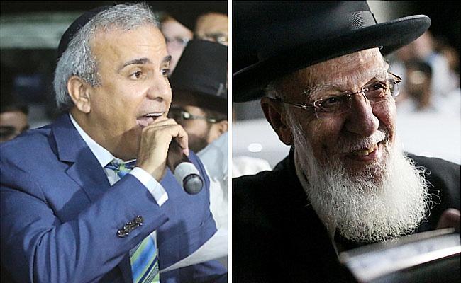 """הגר""""ש כהן ויחיאל נהרי, אמש - נשיא המועצת לנהרי: """"חיכיתי לשמוע אותך"""""""