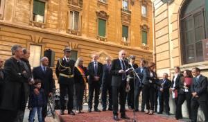 בכירי העירייה ברומא חולקים כבוד ליהודים