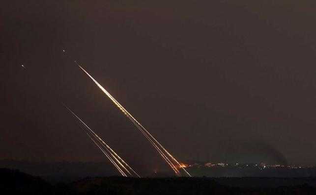 רקטות התפוצצו בשטחים פתוחים באזור עוטף עזה