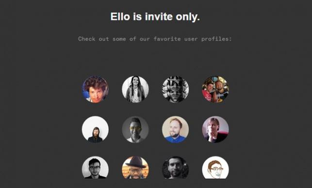 נמאס מפייסבוק? הכירו את Ello